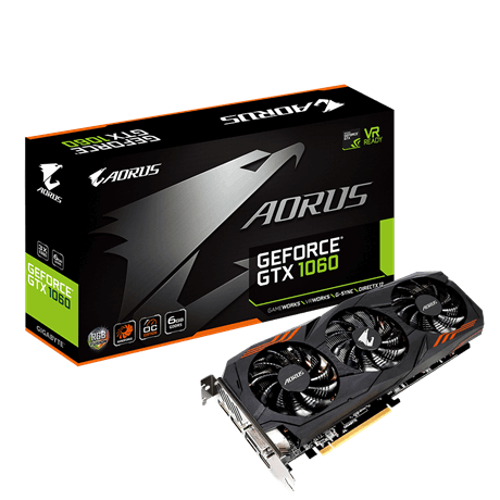 AORUS GeForce® GTX 1060 6G (rev. 2.0)