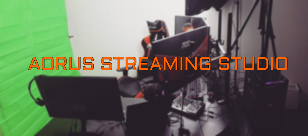 Studio streaming AORUS