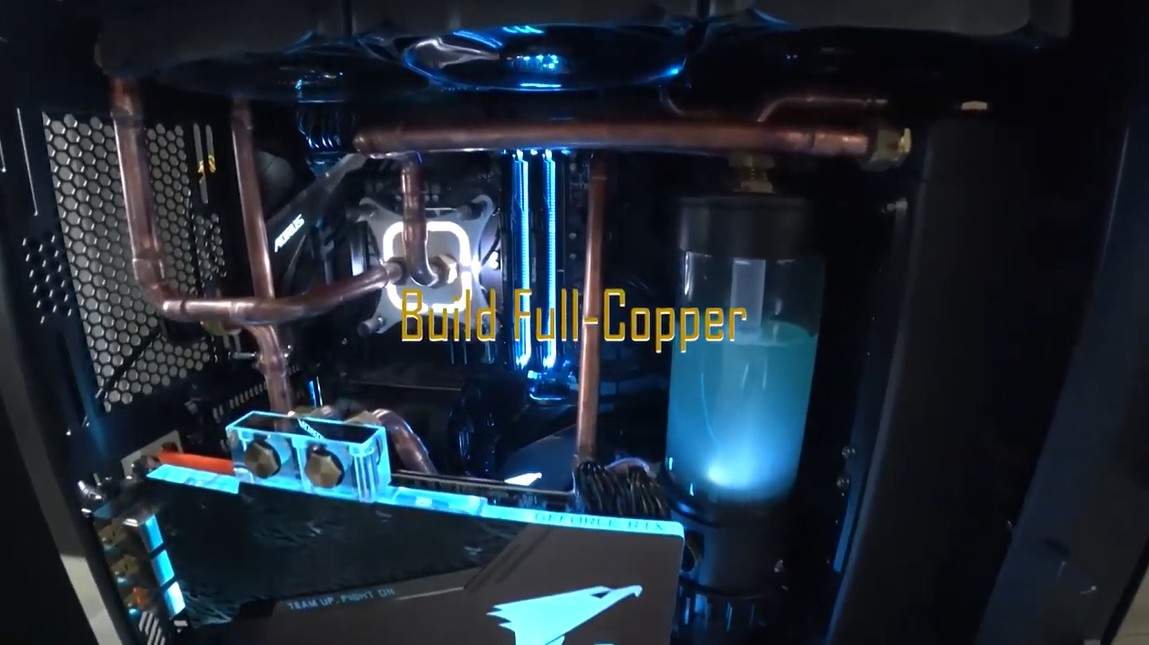 Watercooling Build 2019 Full Copper (Hard Tube)